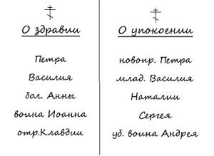 записки-пример